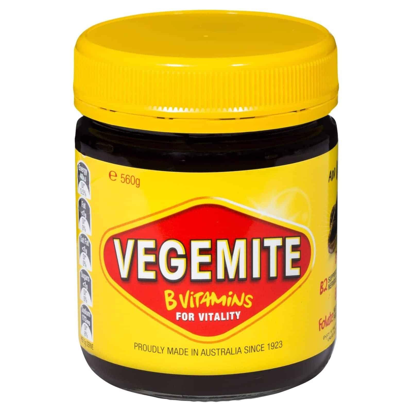 Vegemite Spread Large 560g Jar X 2 Bulk Value Box The